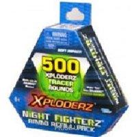 Фото Xploderz Дополнительный пакет боеприпасов Night Fighterz Refill 500 (46505)