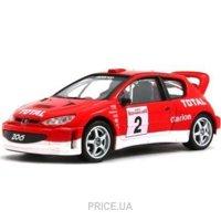 Фото Cararama Peugeot 206 WRC (143XND-81750)