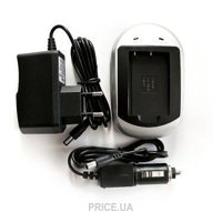 Фото PowerPlant Зарядное устройство для Canon NB-6L, Samsung SLB-10A (DV00DV2232)