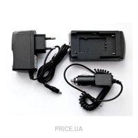 Фото PowerPlant Универсальное з/у для Panasonic DU07,DU21,D08S (DV00DV2092)