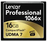 Цены на Lexar Lexar CF 16GB 1066X Professional LCF16GCRBEU, фото