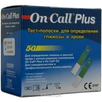 Фото ACON On-Call Plus Test-strips  50