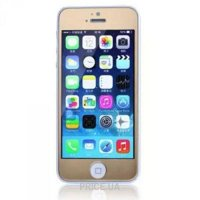 Фото Remax Tempered Glass Colorful Golden Apple iPhone 5S/5/5C 0.2mm