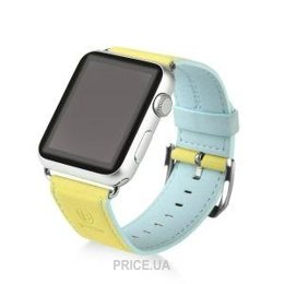 Фото Baseus Colorful Band Yellow/Blue for Apple Watch 38mm