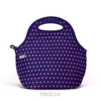 Фото Built Gourmet Getaway Lunch Tote Mini Dot Navy (LB31-MNV)