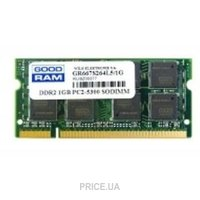 Фото GoodRam 2GB SO-DIMM DDR2 800MHz (GR800S264L6/2G)