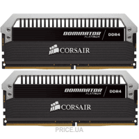 Фото Corsair 16GB (2x8GB) DDR4 3200 MHz (CMD16GX4M2B3200C16)