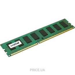 Фото Crucial 4GB DDR3 1600MHz (CT51264BD160B)
