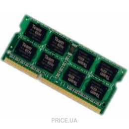 Фото TEAM 4GB SO-DIMM DDR3 1333MHz (TED34GM1333C9-S01)