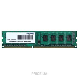 Фото Patriot 4GB DDR3 1333MHz (PSD34G133381)