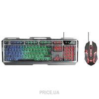 Trust GXT 845 Tural Combo Gaming Black (22457)