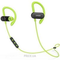 Фото Anker SoundBuds Curve Black/Green (A3263HM1)