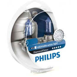 Автолампу Philips 9006(HB4) Diamond Vision 12V 51W (9006DVS2)