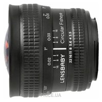 Lensbaby Circular with Fisheye Nikon F
