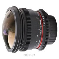 Samyang 8mm T3.8 AS IF UMC Fish-eye CS II VDSLR Minolta A