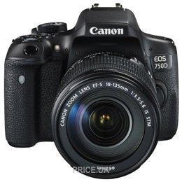 Цифровой фотоаппарат Canon EOS 750D Kit · Цифровой фотоаппарат Цифровой  фотоаппарат Canon EOS 750D Kit ad9ca7936a417