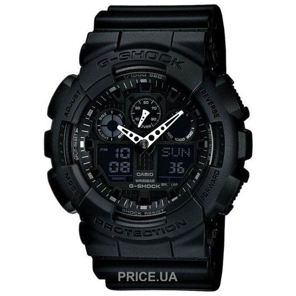 Casio GA-100-1A1  Купить в Украине - Сравнить цены на наручные часы ... a862d27987df2