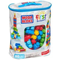 MEGA BLOKS First Builders (CYP72) 80 деталей