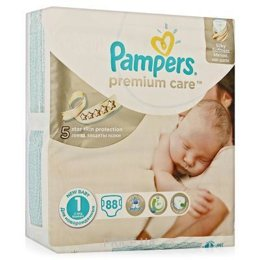 Подгузник Pampers Premium Care Newborn 1 (88 шт.)