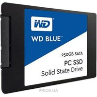 Фото Western Digital SSD Blue 250GB (WDS250G2B0A)