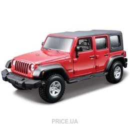 Фото Bburago Jeep Wrangler Unlimited Rubicon (1:32) (18-45121)