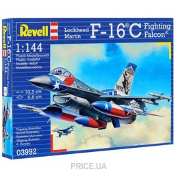 Фото Revell Самолет 1:144 F-16C Fighting Falcon(1984г. США) (RV03992)