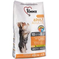 Фото 1st CHOICE Adult Toy & Small Breeds Chicken 7 кг