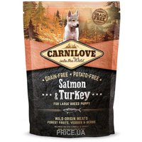 Фото Carnilove Salmon & Turkey Large Breed Puppy 1,5 kg
