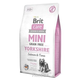 Фото Brit Care Sensitive Grain-Free Yorkshire Salmon & Tuna 7 кг