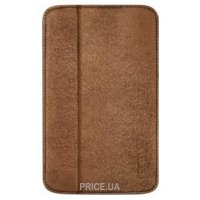 Odoyo GlitzCoat for Galaxy Tab3 7.0 Saddle Brown PH621BR