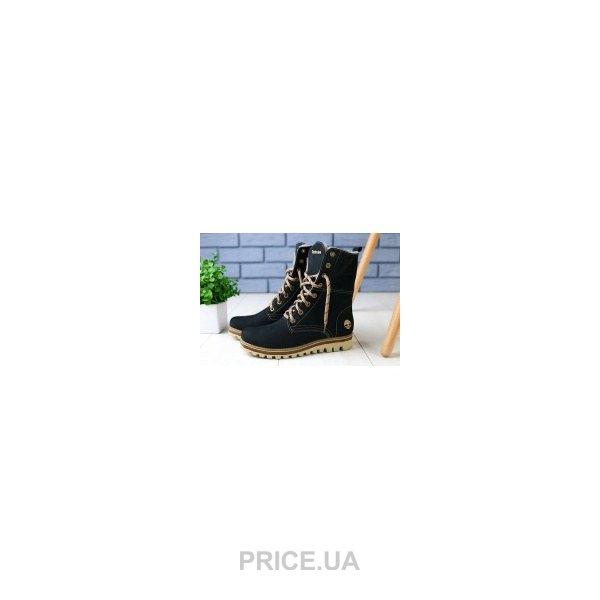 Timberland Женские ботинки на меху Timberland темно-синие 54153-1 зима.  0.0. цены в Украине 6faf0a58ec5f9