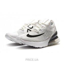 Nike Женские кроссовки Nike Air Max 270 Flyknit белые E13743. 0.0. цены в  Украине 084390766df6a
