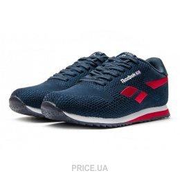 Reebok Женские кроссовки Reebok Classic Runner Jacquard темно-синие с  красным E12812 b4a20d0251306