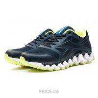 e0a69b5e4beb47 Кроссовок, кед мужской Reebok Мужские кроссовки Reebok Zignano темно-синие  с зеленым E12244