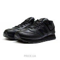 af53793737c0 Кроссовок, кед мужской New Balance Мужские кроссовки на меху New Balance  574 Fur черные E30015
