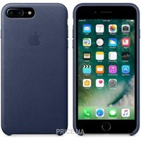 Apple iPhone 7 Plus Leather Case - Midnight Blue (MMYG2)