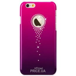 Фото X-Fitted Star Falls with Swarovski для iPhone 6/6s Pink (P6TSP)