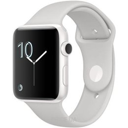 Фото Apple Watch Edition 42mm White Ceramic Case with Cloud Sport Band (MNPQ2)