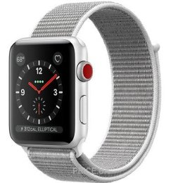 Apple Watch Series 3 38mm Silver Aluminum Case with Seashell Sport Loop (MQJR2)