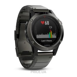 Garmin Fenix 5 Sapphire Slate Gray With Metall Band (010-01688-21)