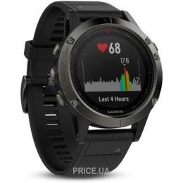 Фото Garmin Fenix 5 Slate Gray With Black Band (010-01688-00)