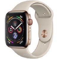 Фото Apple Watch Series 4 44mm GPS+LTE Gold Stainless Steel Case with Stone Sport Band (MTV72/MTX42)