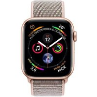 Фото Apple Watch Series 4 (GPS) 40mm Gold Aluminium Case with Pink Sand Sport Loop (MU692)