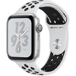 Apple Watch Nike+ Series 4 GPS 40mm Silver Alum. w. Platinum/Black Nike Sport b. Silver Alum. (MU6H2)