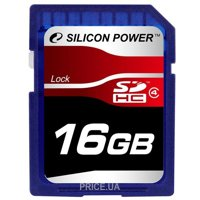 Фото Silicon Power SP016GBSDH004V10