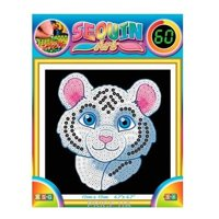 Фото Sequin Art 60 White Tiger (SA1326)