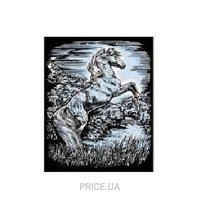 Фото Sequin Art ARTFOIL SILVER Stallion (SA1033)