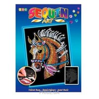 Фото Sequin Art BLUE Horse (SA1517)