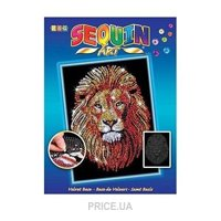 Фото Sequin Art BLUE Lion (SA1207)