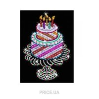 Фото Sequin Art ORANGE Birthday Cake (SA1506)